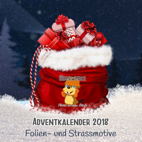 Adventkalender 2018 Folien- und Strassmotive