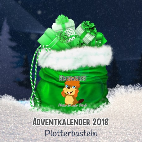 Adventkalender 2018 Plotterbasteln