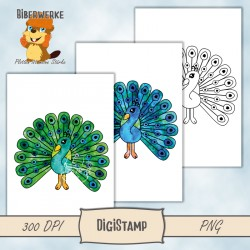 DigiStamps Pfau