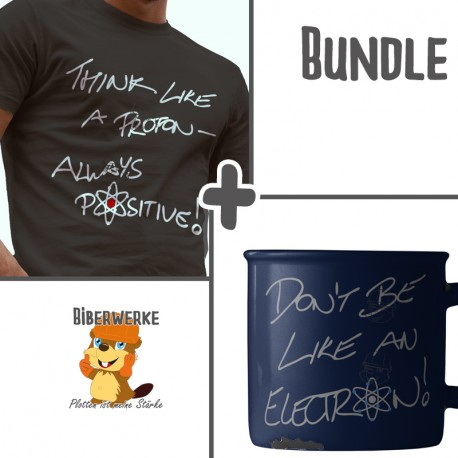 "Bundle: ""Think Proton"" & ""Like Electron"""