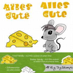 DigiStamp Maus Goodie
